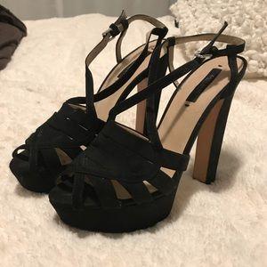 Zara platforms sandals